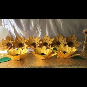 Sunflowers decorations